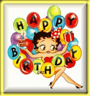 anniversaire GIGI BettyBoopHappyBirthday