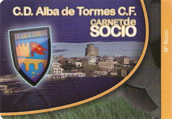 HAZTE SOCIO DEL C.D. ALBA DE TORMES C.F.