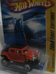 Hot Wheels - Hummer H2 SUT