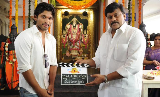 Badrinath Shooting Launch Stills gallery