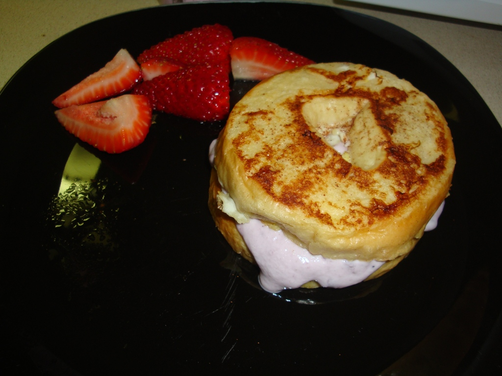 We've Been Wanting To Make Some French Toast, And Per Ian's Style We Added  A Little Twist!