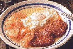 Huevos fritos a la mallorquina
