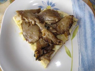 Tortilla con Setas