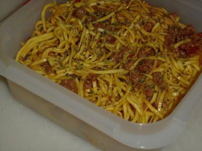 Spaghetti fríos