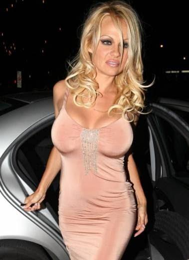 Pamela anderson butt boobs