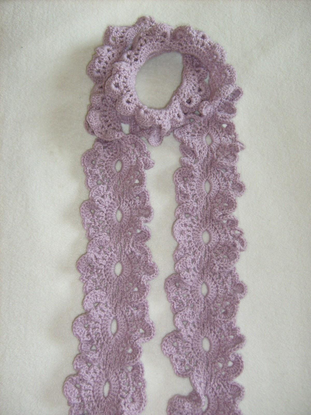 Bufandas tejidas a mano- crochet flower scarf handmade - Chicago