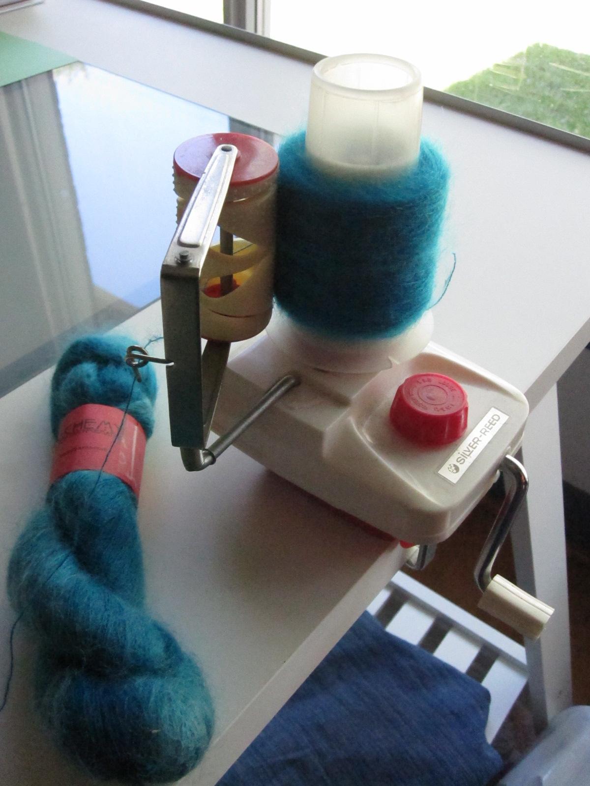 Knitting Machine Tutorial : Superba knitting yarn winder tutorial for home