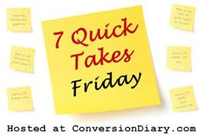 7 quick takes sm 7 Quick Takes Friday (vol. 78)
