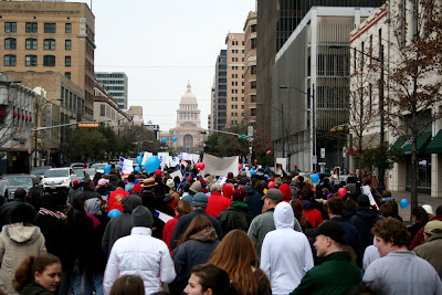 crowd capitol 1 A day at the Texas March for Life