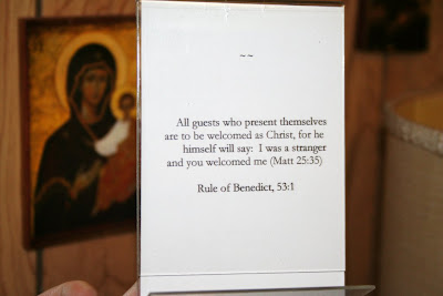 mtangel1 rule Received as Christ: Photos from a Benedictine monastery