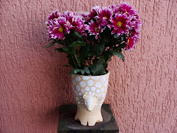 Tatu c/ flores