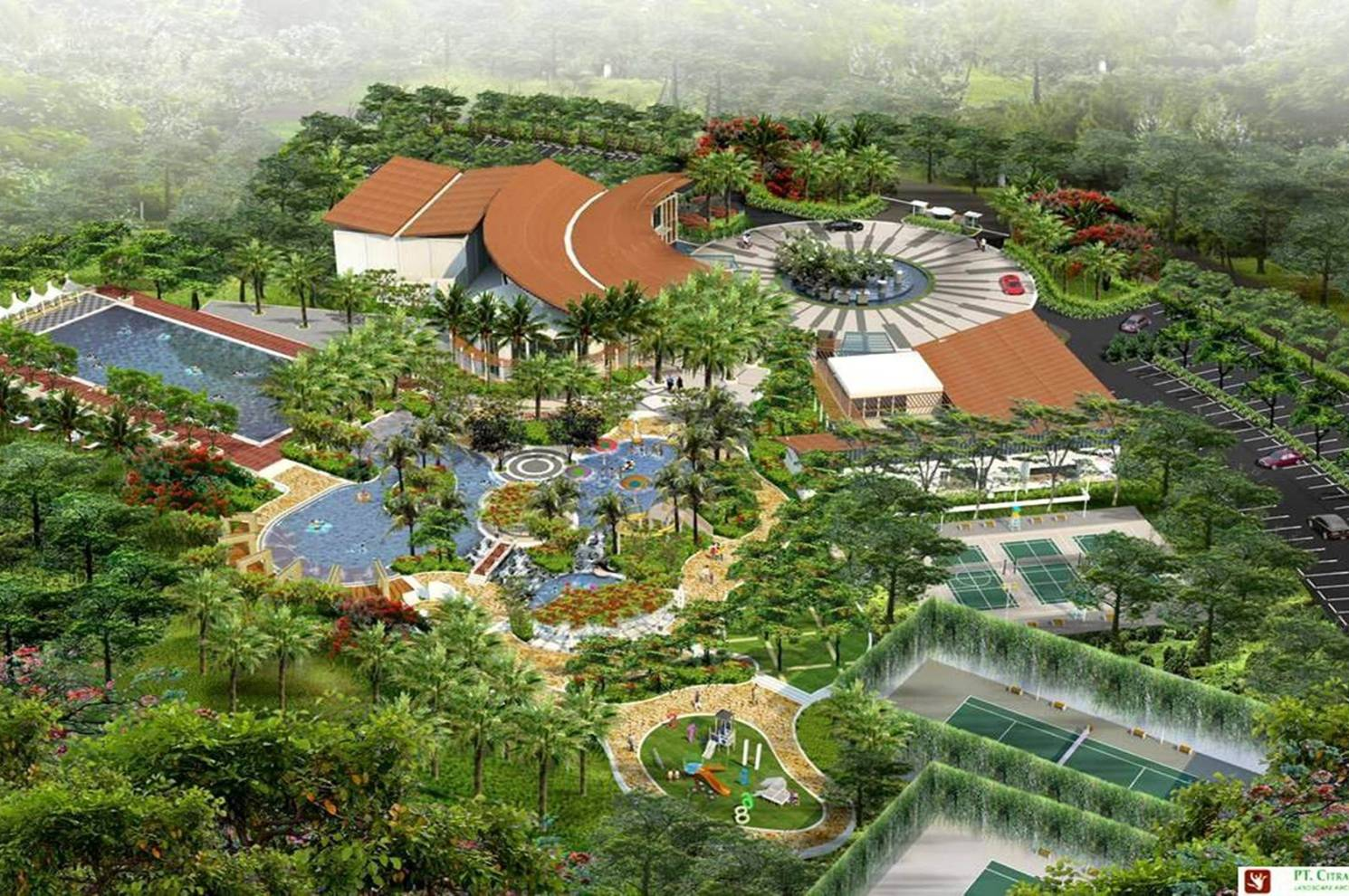 jakarta garden city  the club house