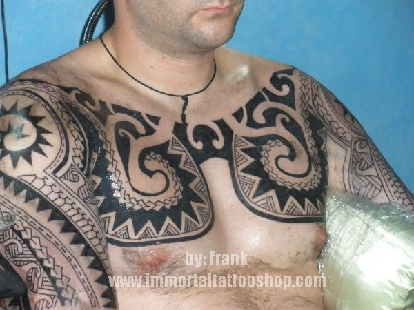 filipino tribal tattoo by frank. german national travel from europe to visit