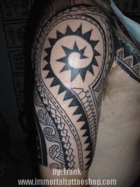 filipino tribal tattoo. filipino tribal tattoo by