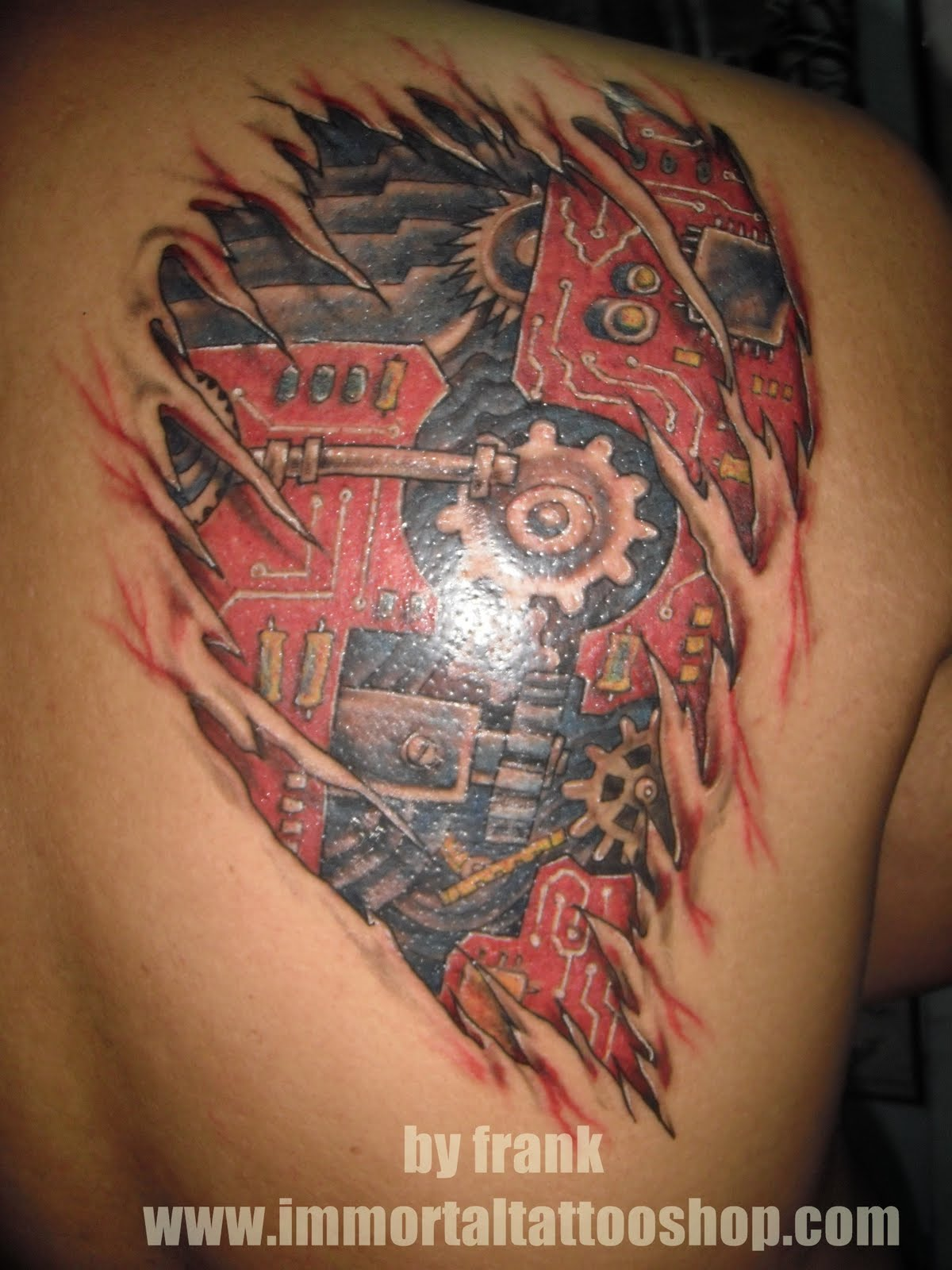 3D TATTOO by frank Multiply