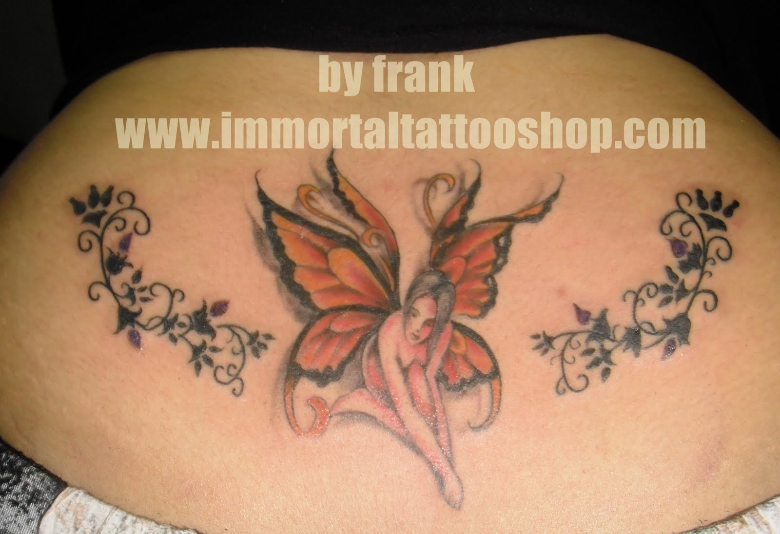 Next 3d TATTOO by frank