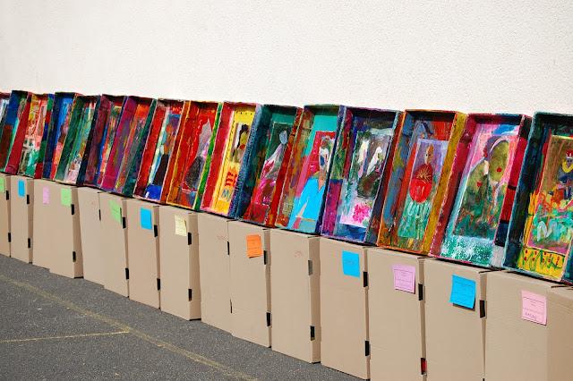 Projet Enfants du Monde, conçu et développé par l'artiste Ivanna de Alzaa