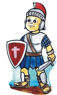 JUEGO:   La armadura de Dios