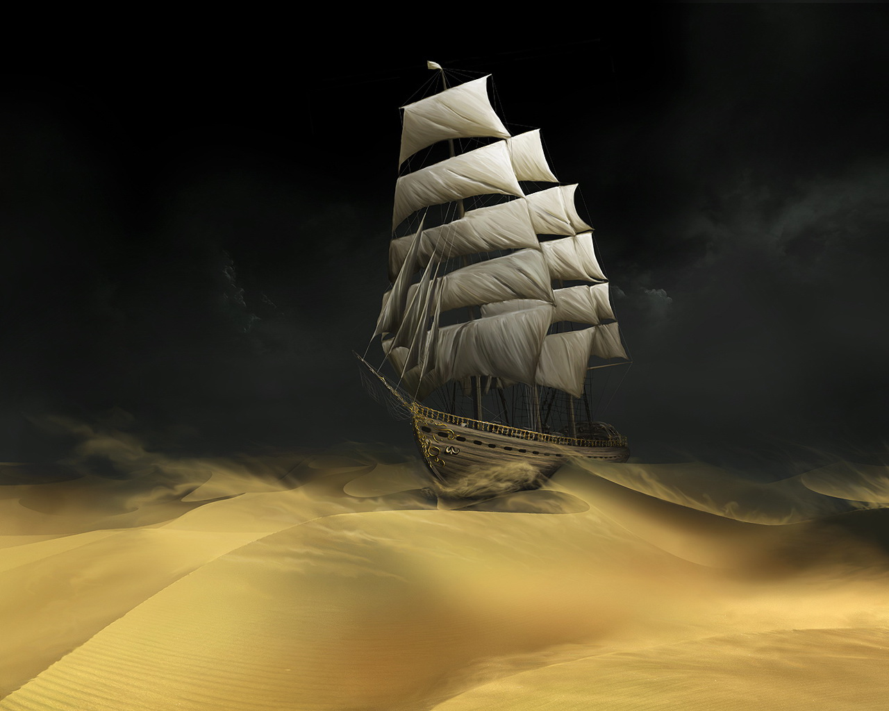 scunnert nation  Wallpaper Sailboat