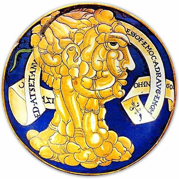 Leggere a rovescio (F. Urbini - 1536 ca.)