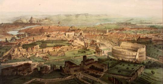 Engrammi roma la magnifica visione for Piani di fattoria del 19 secolo