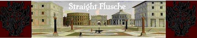 Straight Flusche