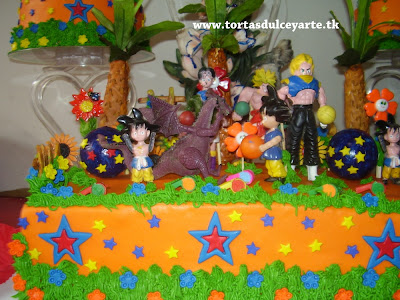 torta goku dragon ball lima peru
