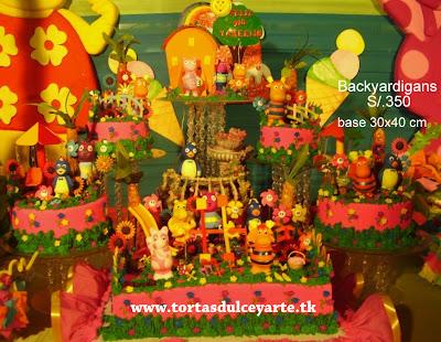 torta backyardigans lima peru foto 1