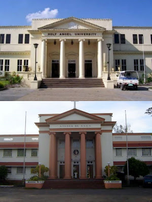 holy angel university, ateneo de naga university, archbishop pedro santos, hau, adnu, college, schools in the philippines, naga, pampanga, christian schools