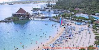 renaissance beach, okinawa, travel, japan, beach, okinawa-information.com