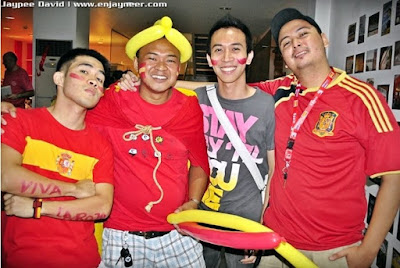 FIFA World Cup 2010, Intituto Cervantes, Spain, Live, Manila, Spanish