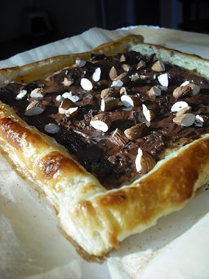 forked: edible exploits: chocolate almond pastries