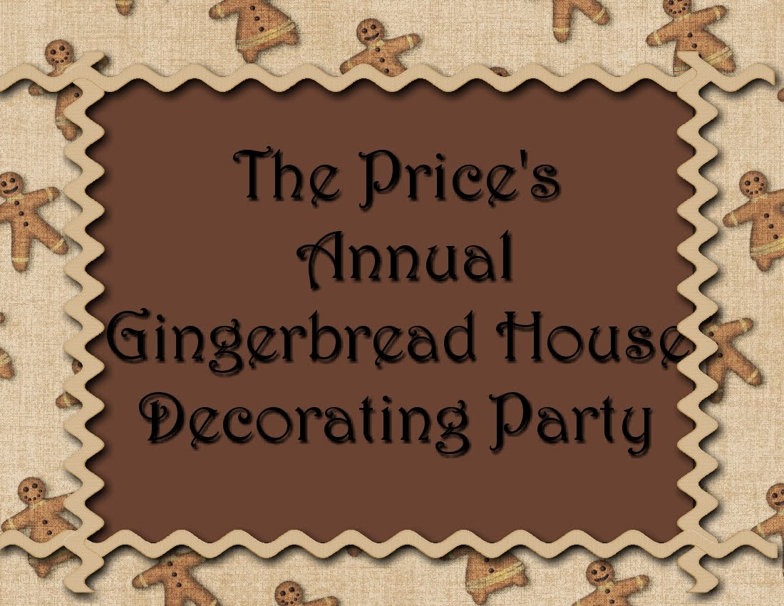 The Prices Annual Gingerbread House
