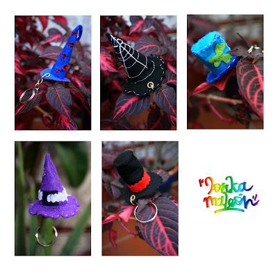 Sombreros mágicos para tu llavero, un detalle original