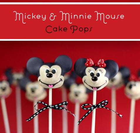 Paradise kitchen - Ζαχαροπλαστείο Παράδεισος: Bakerella's ... Mickey And Minnie Cake Pops Instructions