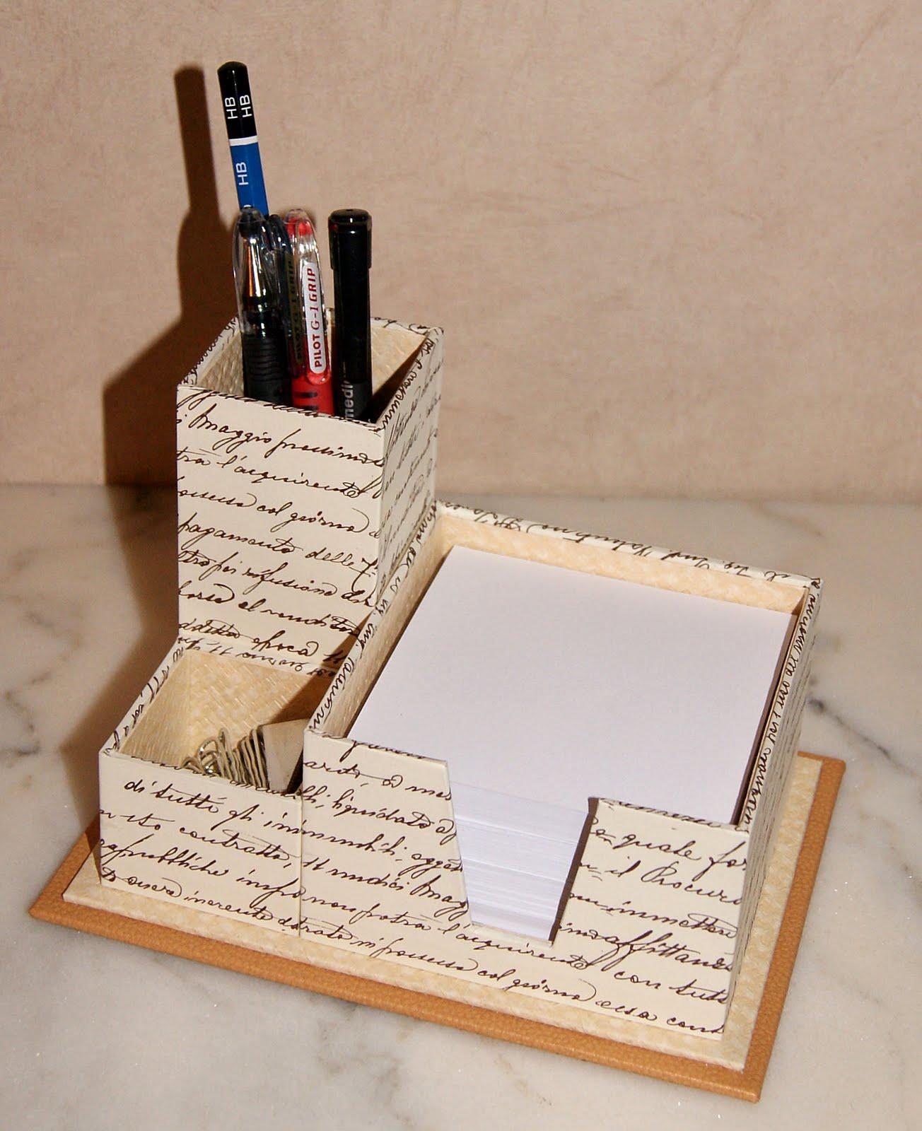 Recreations pot crayons et bloc note - Telecharger un bloc note pour le bureau ...