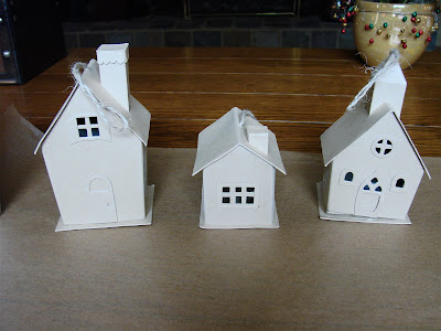 Uncommon Artistic Endeavors Make Your Own Christmas Village