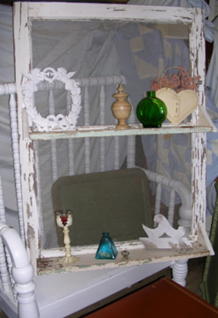 Hand made crafts by zz window projects for Old window craft ideas