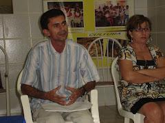 ABERTURA DO GESTAR II -PREFEITO E SACRETÁRIA DE EDUCAÇÃO