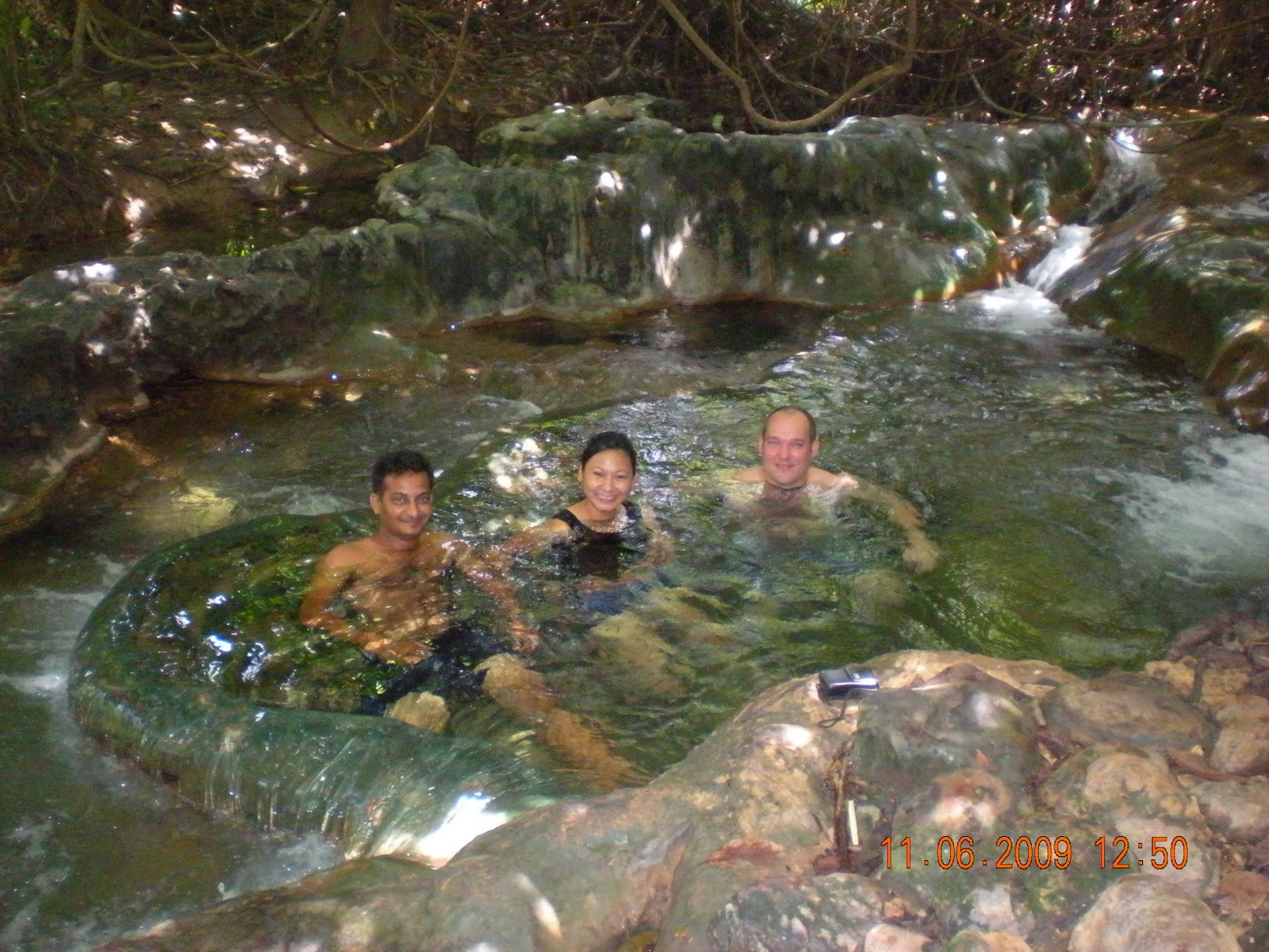 Cybercaptain: Hot springs and Sa Morakot pools