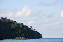 Pulau Satang, Telaga air, Kuching, Sarawak