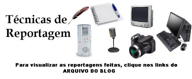 Tecnicas de Reportagem 2008.2