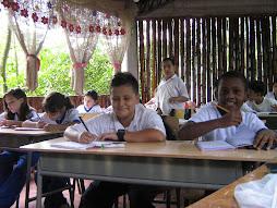 Estudiantes grado quinto bàsica primaria
