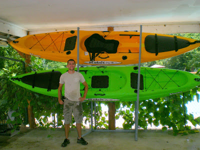 Malibu Kayaks in Mango and Lime!
