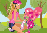 Barbi vozi bicikl