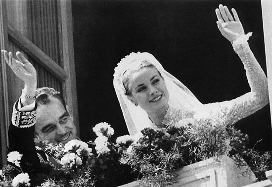 grace kelly wedding day. princess grace kelly wedding
