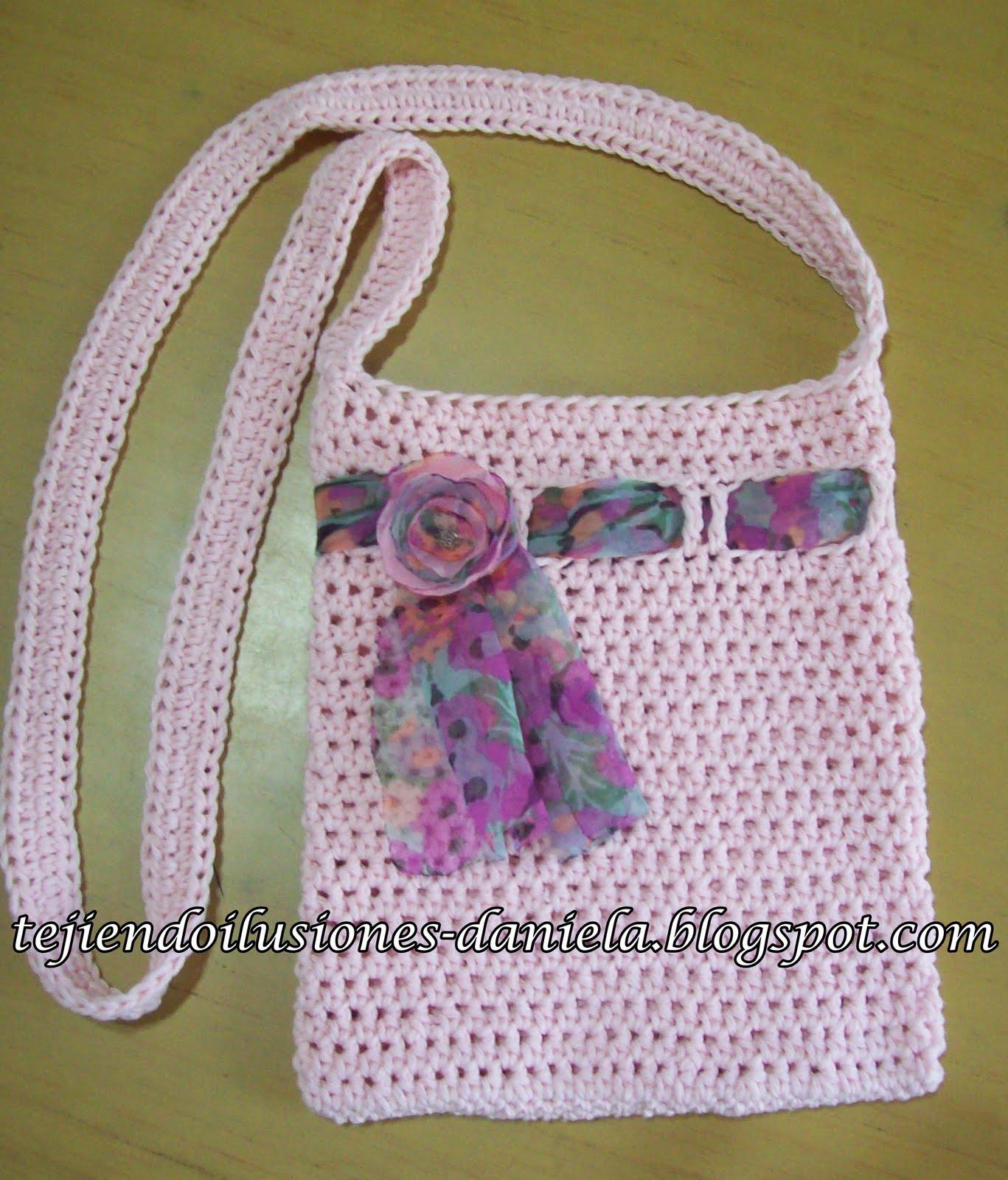 Patrones De Carteras Tejidas a Crochet