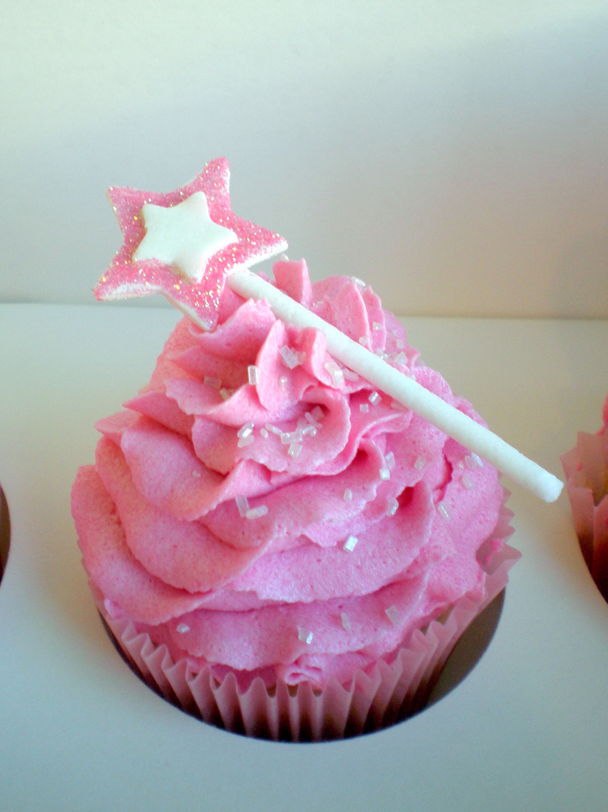 Princess Cupcake Images : Princess Wand Cupcake Celebrations Pinterest