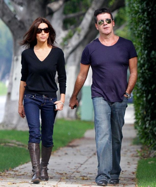 Who is Simon Cowell dating?