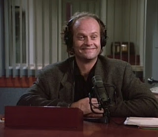 Frasier in a not entirely lucid state